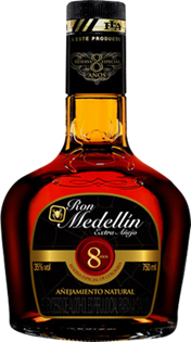 Ron Medellin Rum Extra Anejo 8 Year 750ml